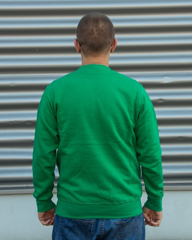 BLUZA CREWNECK MONEY GREEN