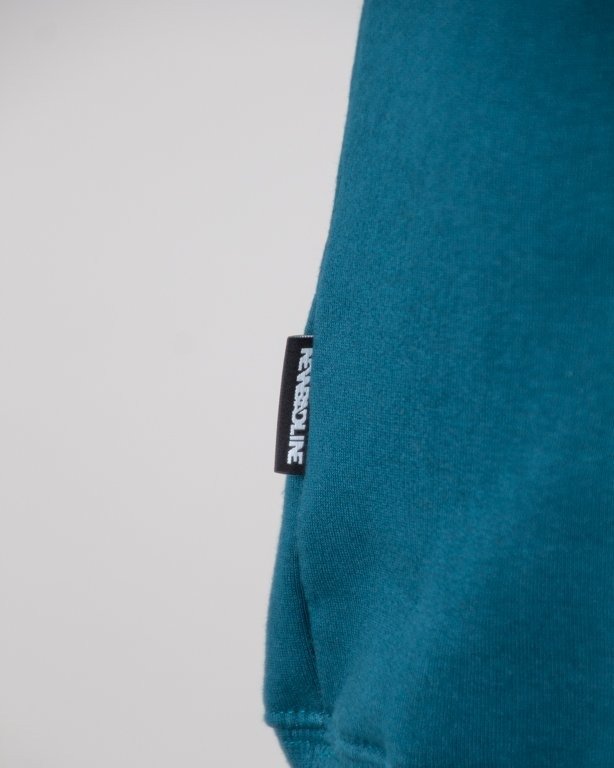 BLUZA BEZ KAPTURA SLEEVE EMERALD