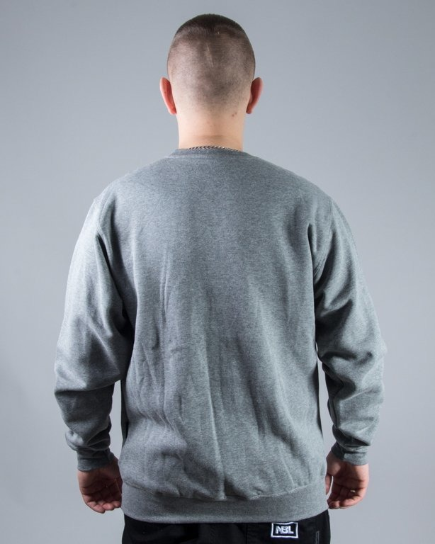 BLUZA CREWNECK BASKET GREY