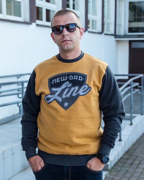 BLUZA CREWNECK SHIELD CAMEL