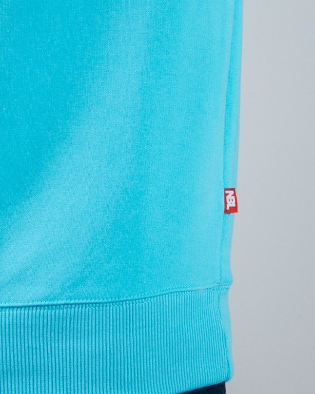 BLUZA CREWNECK SPRAY LIGHT BLUE