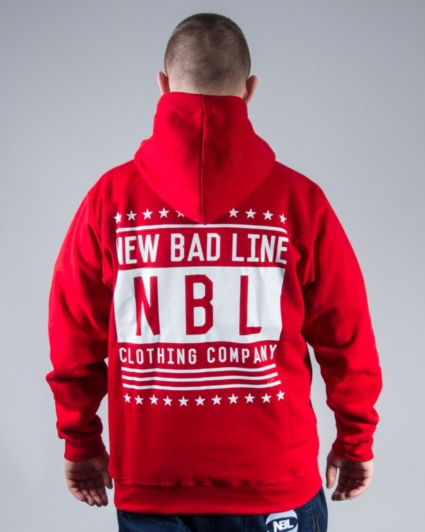 BLUZA HOODIE SWAG RED