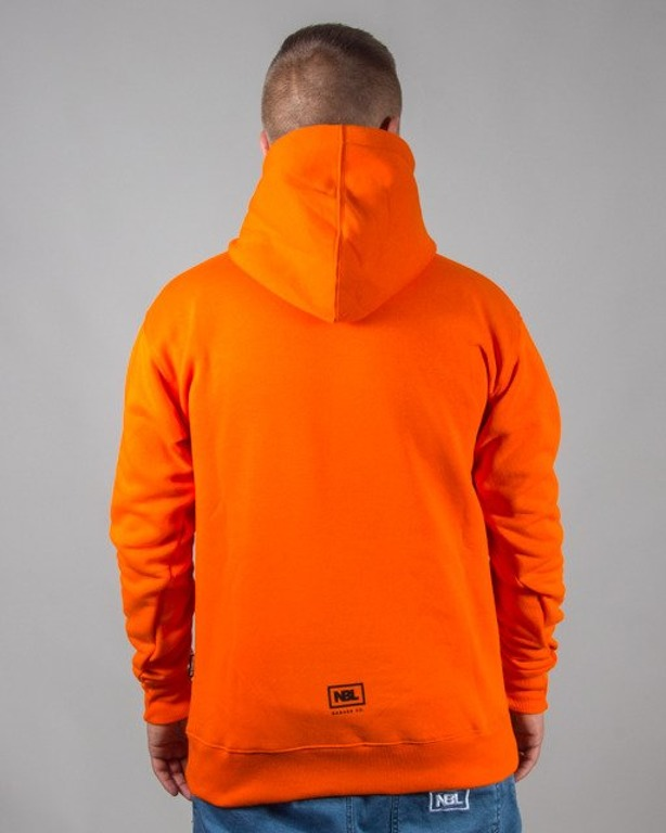 BLUZA Z KAPTUREM CLASSIC ORANGE