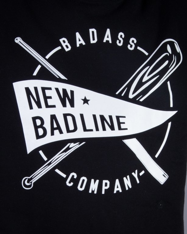 NEW BAD LINE BLUZA BEZ KAPTURA BASEBALL BLACK