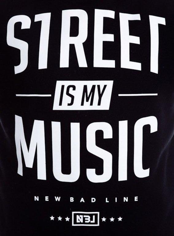 NEW BAD LINE BLUZA STREET BLACK