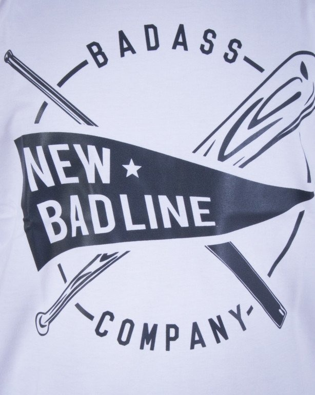 NEW BAD LINE KOSZULKA BASEBALL WHITE