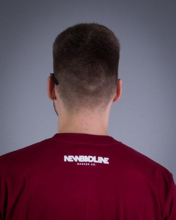 NEW BAD LINE KOSZULKA EASY BRICK-MELANGE