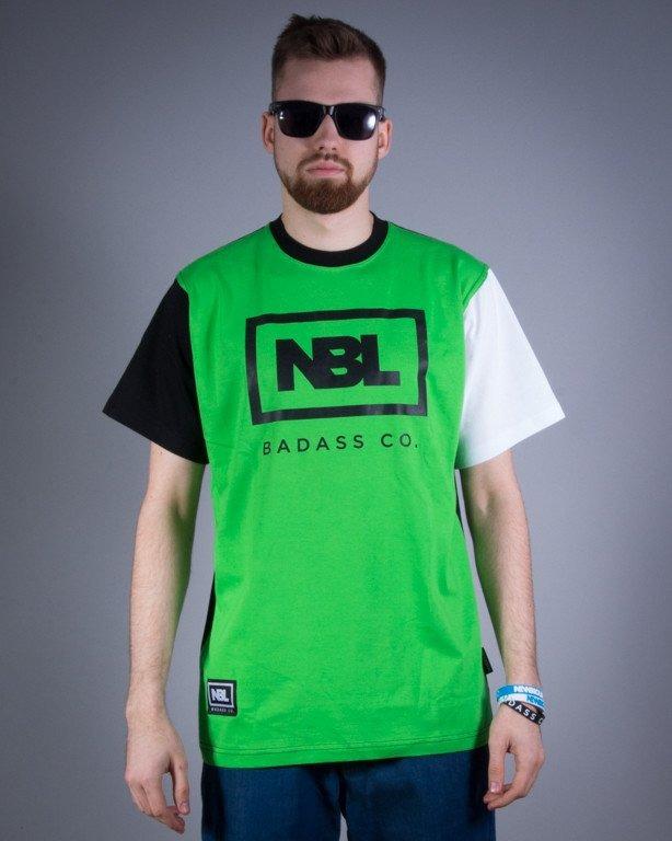 NEW BAD LINE KOSZULKA ICON GREEN-BLACK-WHITE