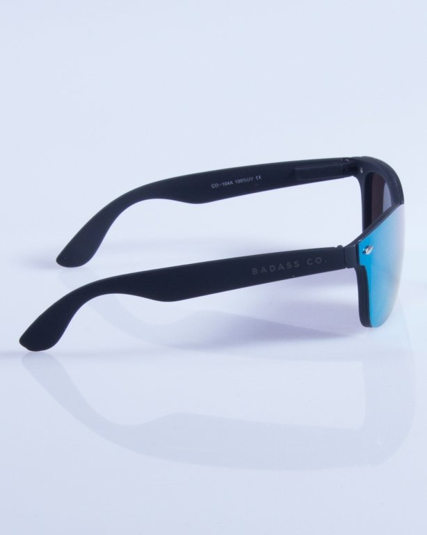 NEW BAD LINE OKULARY CLASSIC ALL GLASS RUBBER MIRROR 344