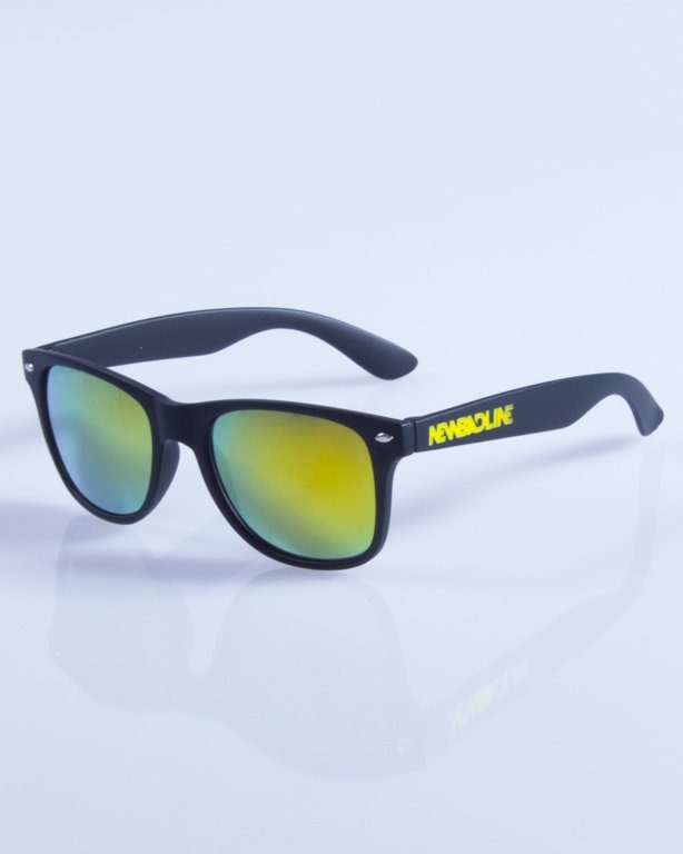 NEW BAD LINE OKULARY CLASSIC MIRROR RUBBER 317