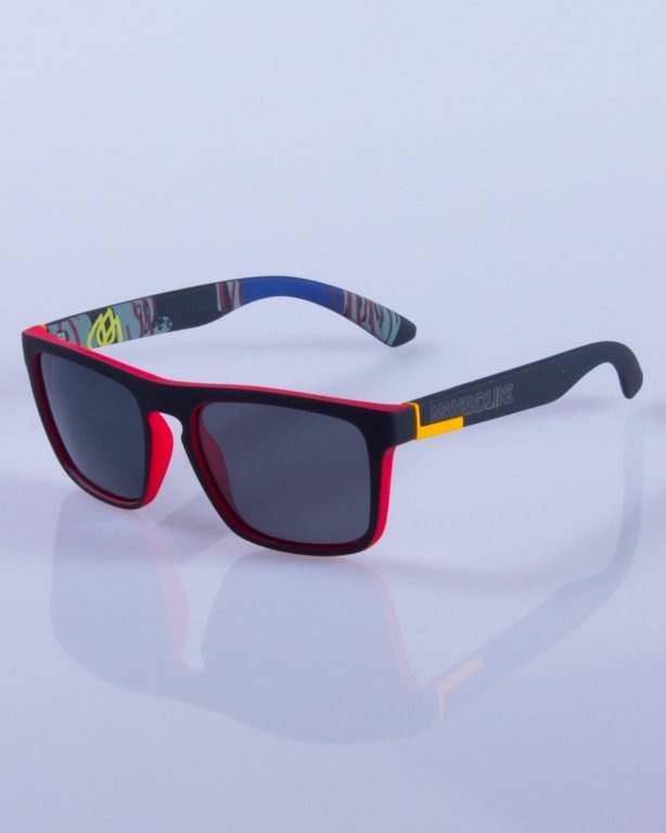 NEW BAD LINE OKULARY COMIX POLARIZED MIRROR RUBBER 429