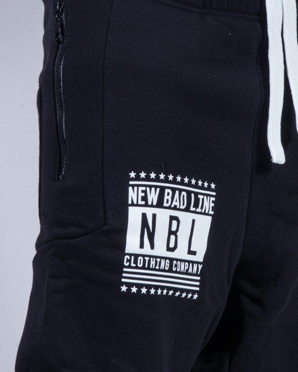 NEW BAD LINE SPODNIE DRESY SWAG LOW BLACK