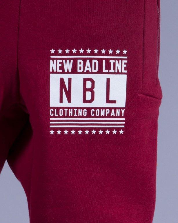NEW BAD LINE SPODNIE DRESY SWAG LOW BRICK