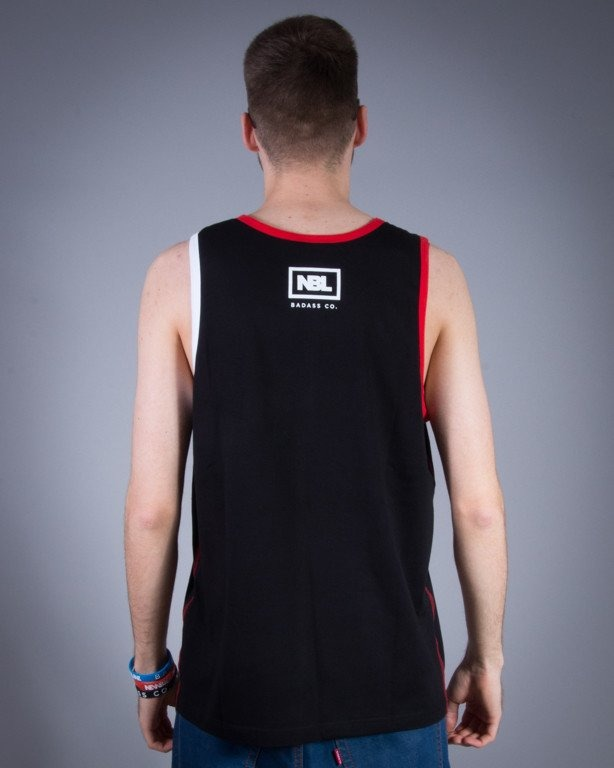 NEW BAD LINE TANK TOP CLASSIC BLACK-RED