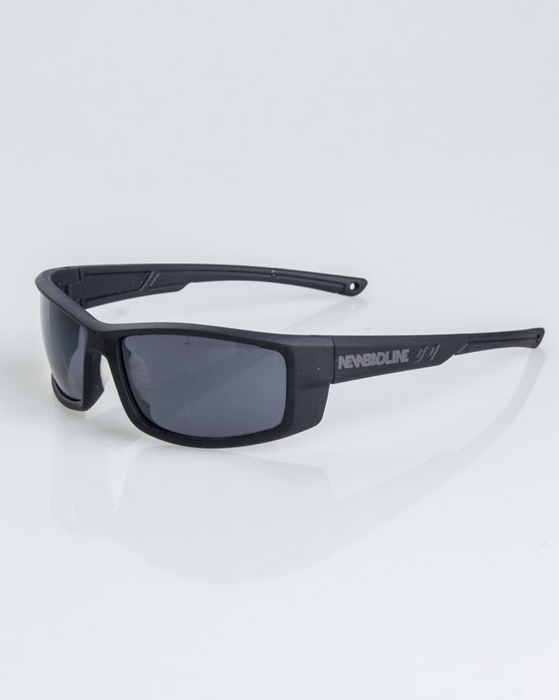 OKULARY BLADE BLACK RUBBER BLACK 1237