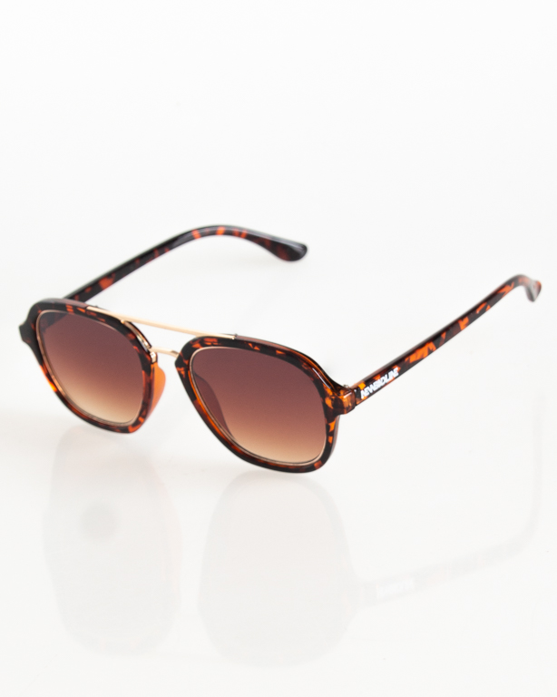 OKULARY CLASS GOLD-PANTERA FLASH BROWN 100