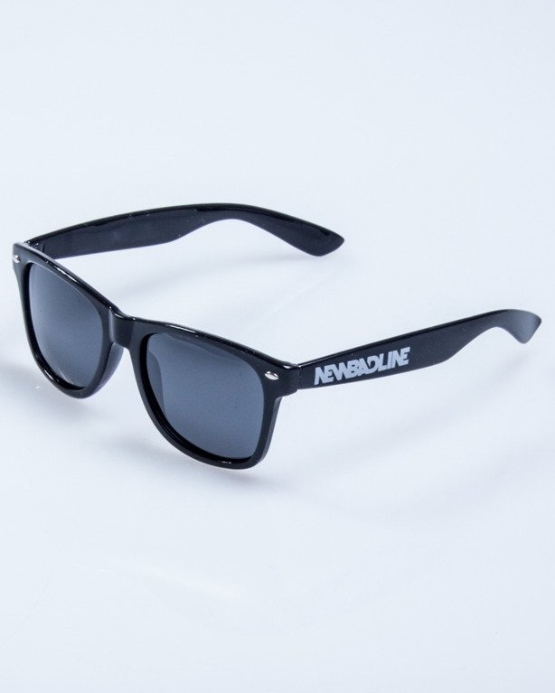 OKULARY CLASSIC BLACK FLASH BLACK POLARIZED 530