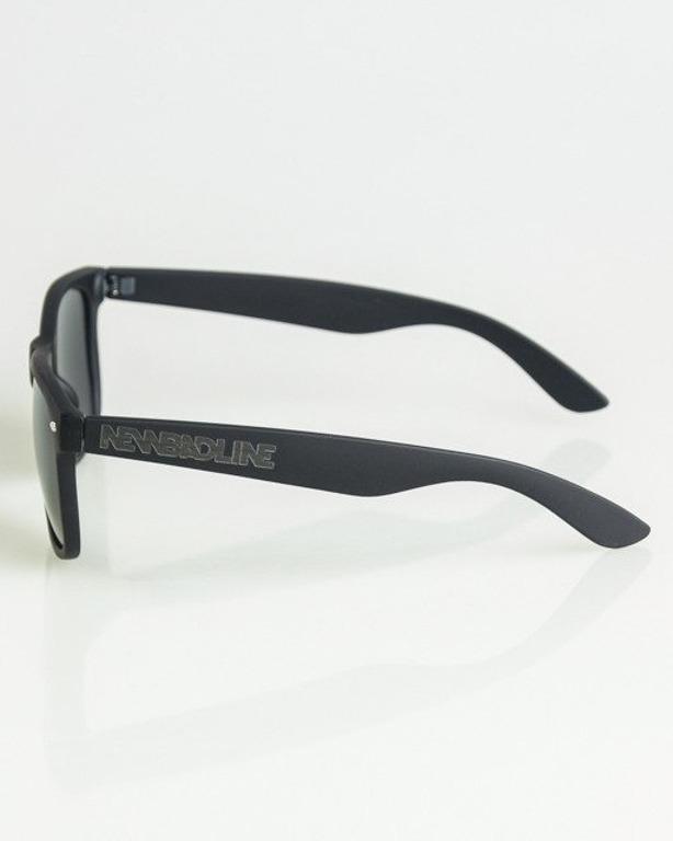 OKULARY CLASSIC BLACK RUBBER BLACK 1351