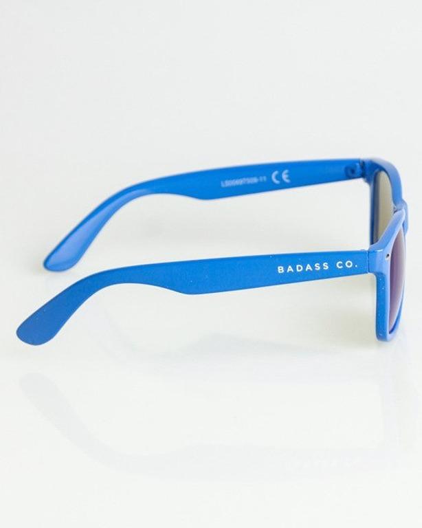 OKULARY CLASSIC BLUE FLASH BLUE MIRROR 1341