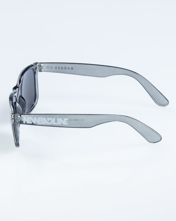 OKULARY CLASSIC CLEAR GREY GREEN MIRROR 859