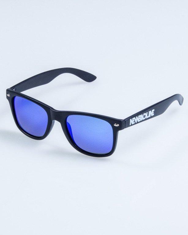 OKULARY CLASSIC POLARIZED BLACK MAT BLUE 744