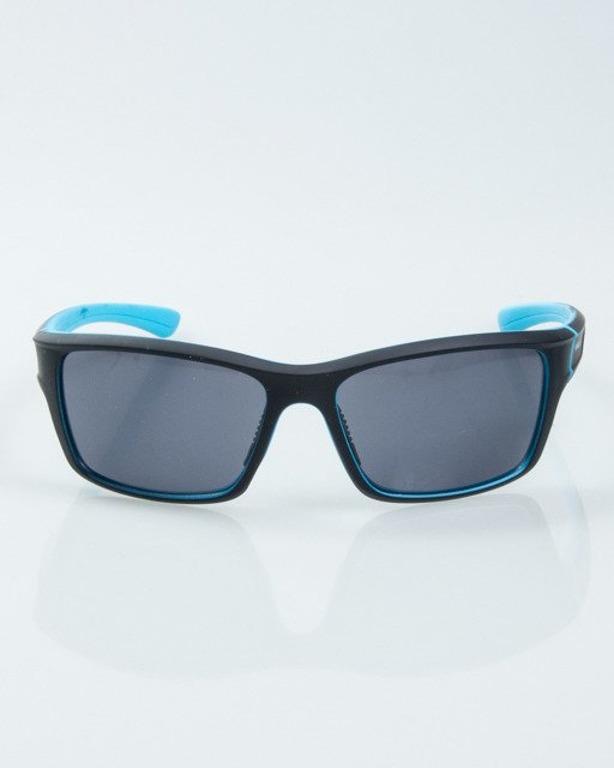 OKULARY EXEMPLAR INSIDE BLACK-BLUE RUBBER BLACK 1017