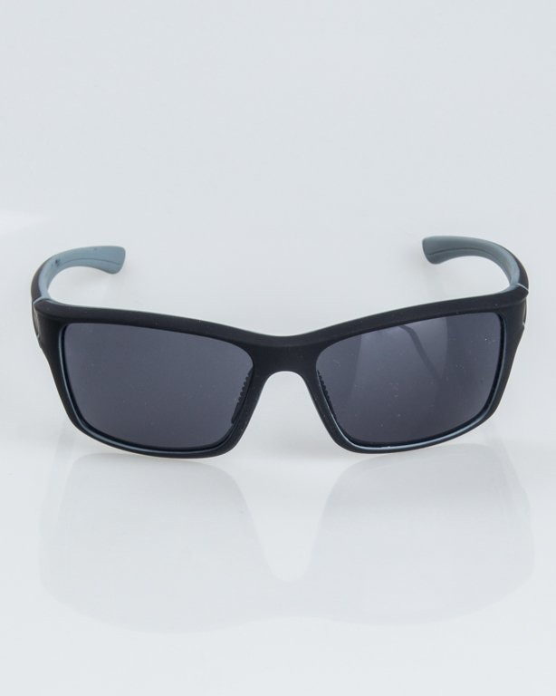 OKULARY EXEMPLAR INSIDE BLACK-GREY RUBBER BLACK 1240