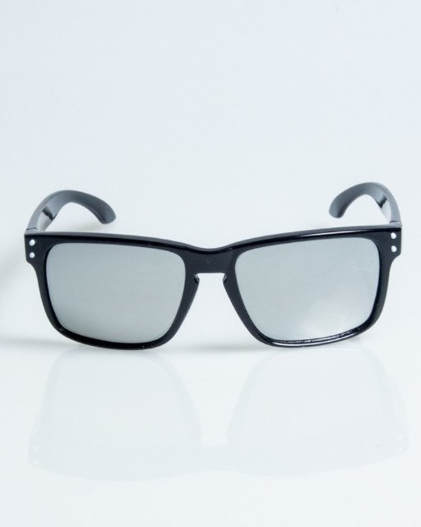 OKULARY FREESTYLE BLACK FLASH SILVER MIRROR POLARIZED 1094