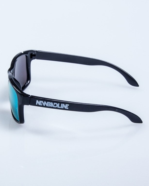 OKULARY FREESTYLE BLACK FLASH YELLOW MIRROR 598