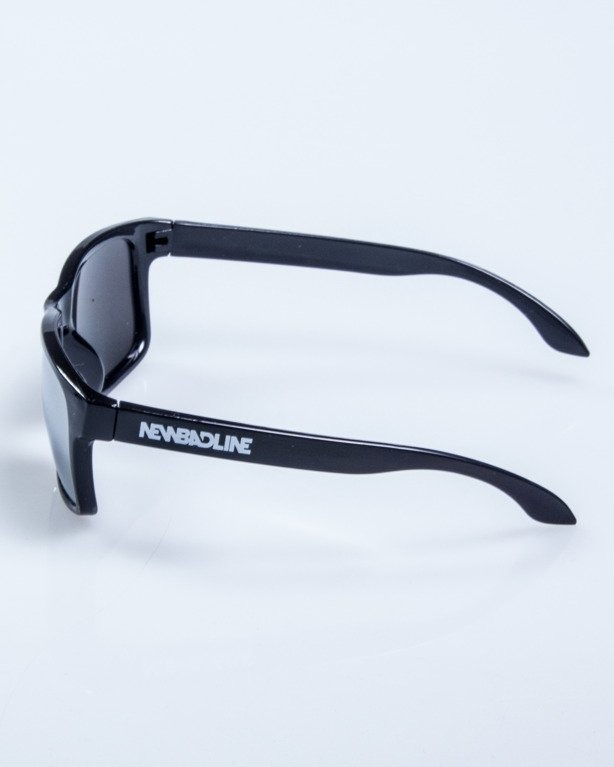 OKULARY FREESTYLE M BLACK FLASH GREY MIRROR 624