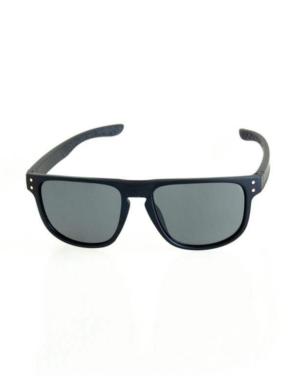 OKULARY POINT NAVY RUBBER BLACK 197