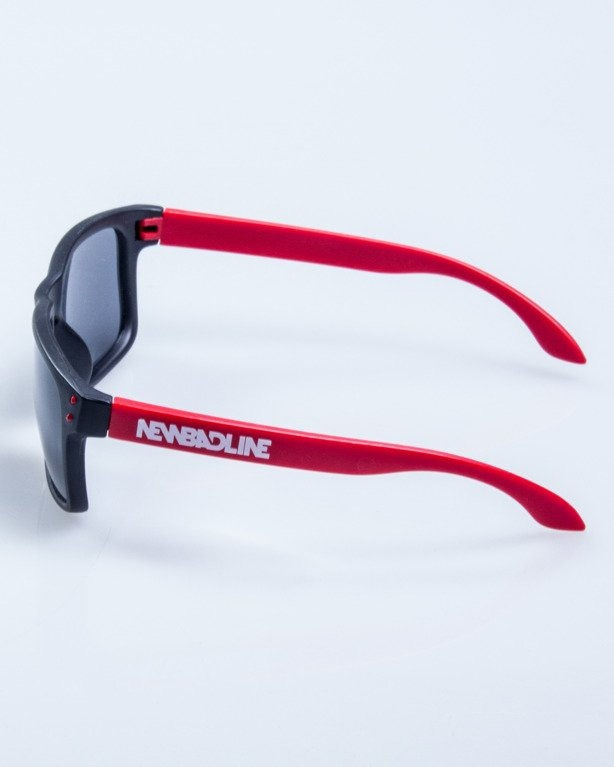 OKULARY FREESTYLE POINT BLACK-RED MAT BLACK 619