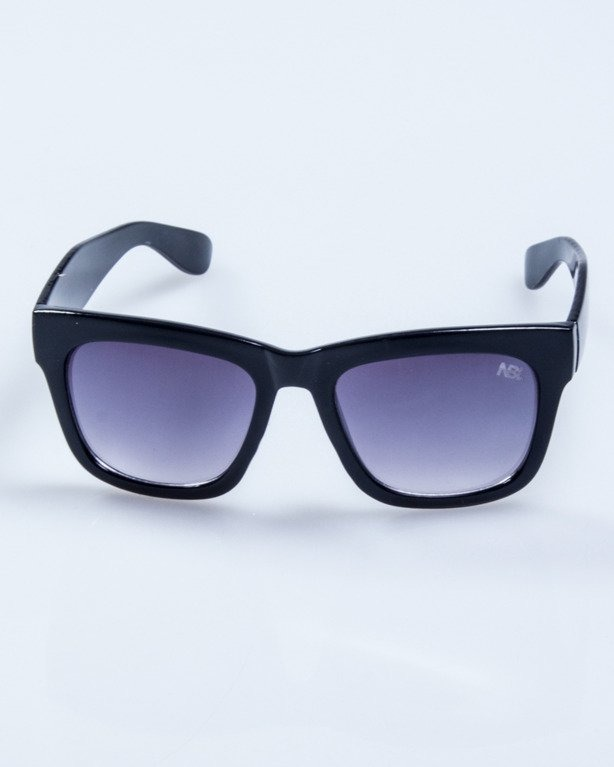 OKULARY LADY BIGLOVE BLACK FLASH BLACK 546