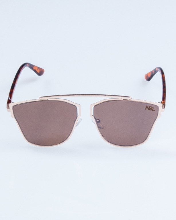 OKULARY LADY FUTURE GOLD BRWON 722