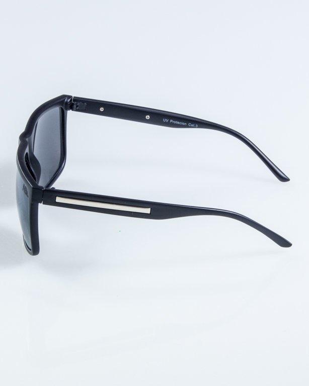 OKULARY NARROW BLACK MAT BLACK 919