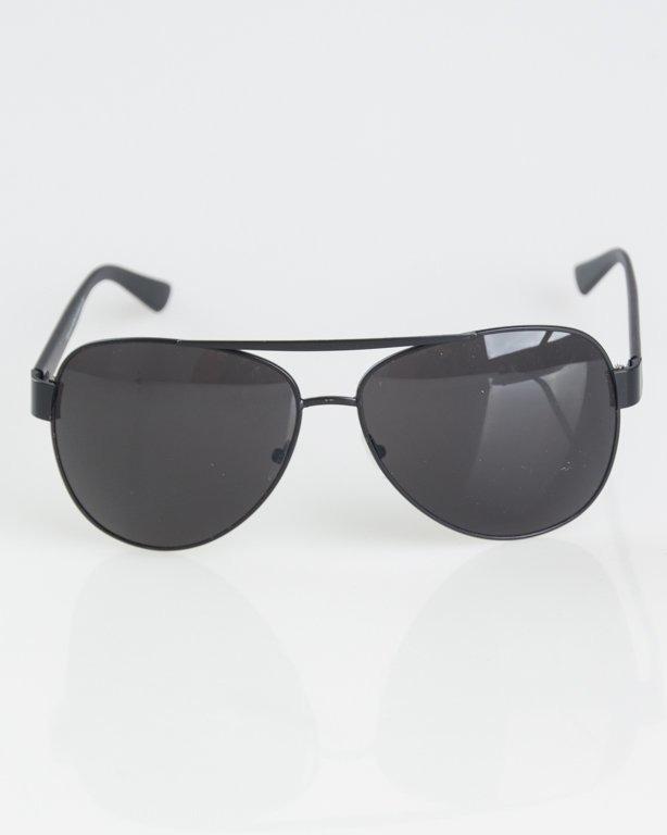 OKULARY PATROL BLACK-BLACK MAT BLACK 1301