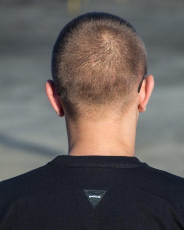 T-SHIRT ŁAPA BLACK