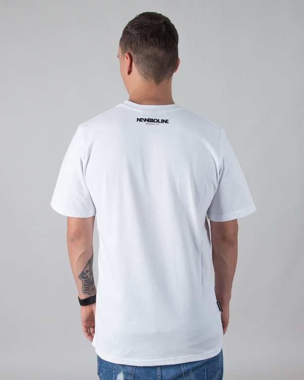 T-SHIRT PALM WHITE