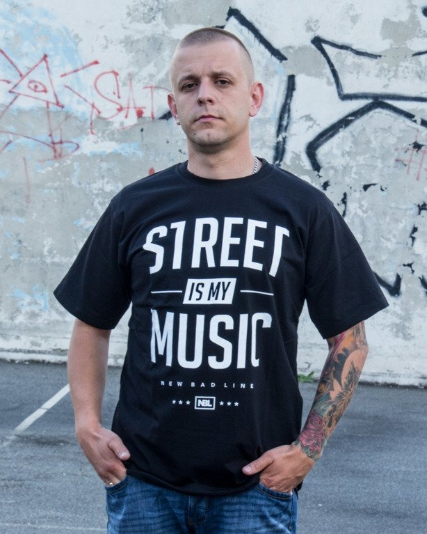 T-SHIRT STREET BLACK